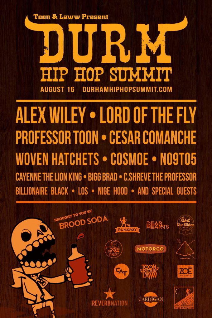 2014 DURM Hip Hop Summit Line Up